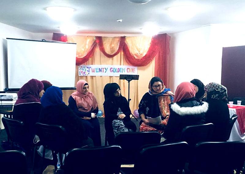Weekly Study Circle and Mawlid gathering held