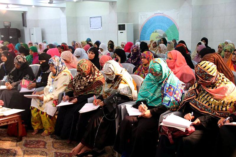 Minhaj ul Quran Women League MWL Organizational Training Camp 2018