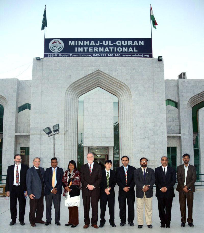 Christian delegation visits central secretariat