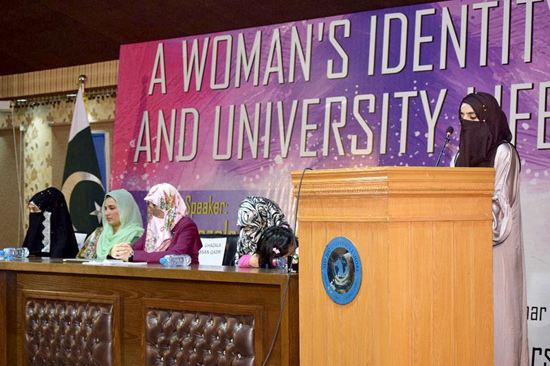 seminar on women identity in university life