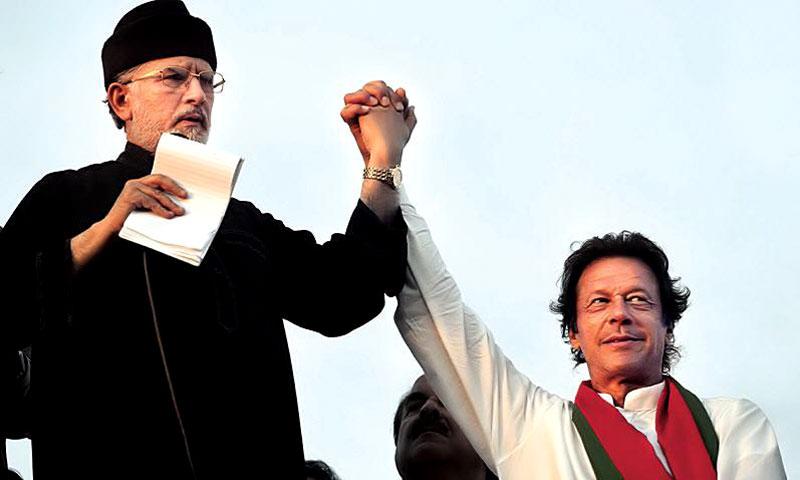 Dr Tahir ul Qadri congratulates Imran Khan on Prime minister