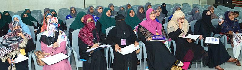 Day 1: Irfan-ul-Hidayah Refresher Course
