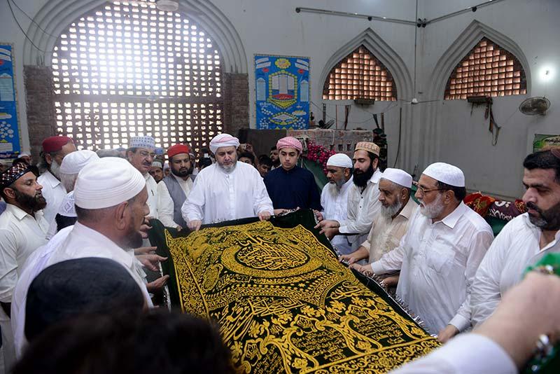 27th death anniversary of Sayyidna Tahir Allauddin al-Qadri al-Gillani