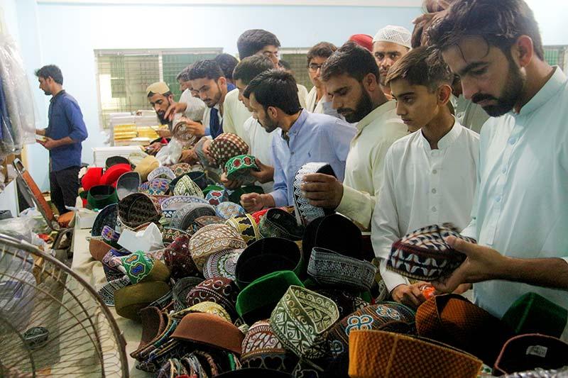 Minhaj ul Quran Publications book stall