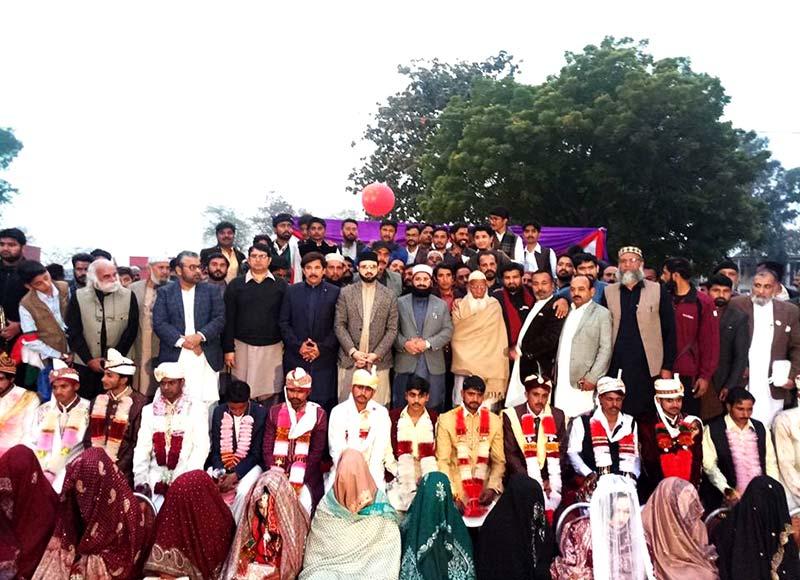 خانقاں ڈاگراں، منہاج القرآن کے زیراہتمام 15 جوڑیوں کی شادیاں