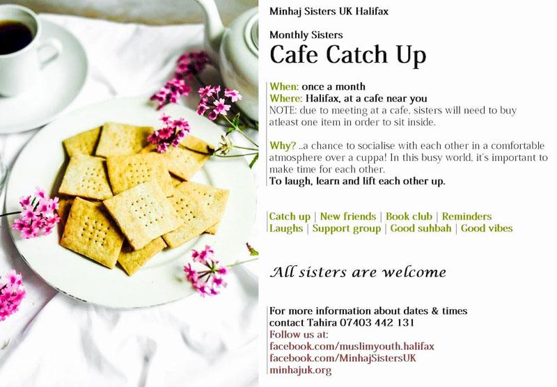 Minhaj Sisters Halifax hold Cafe Catch Up