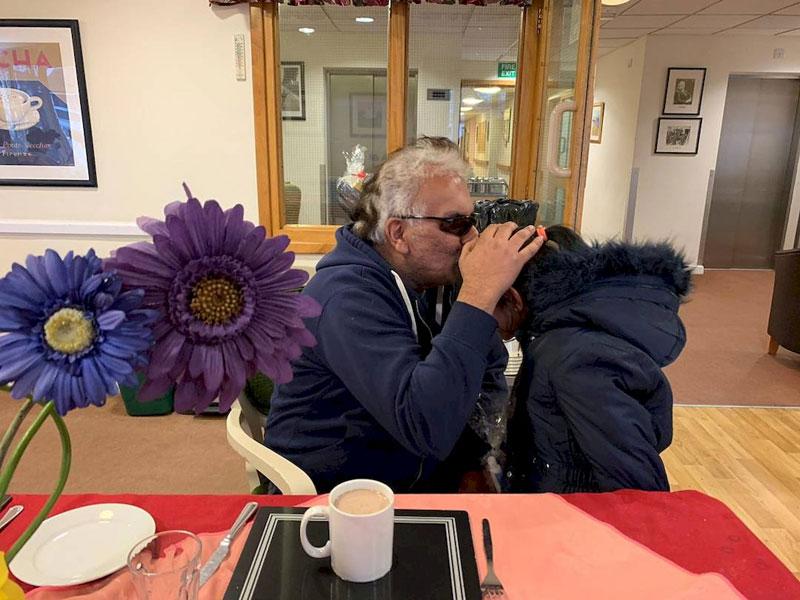 Minhaj Sisters visit Barchester Westgate House Care Home