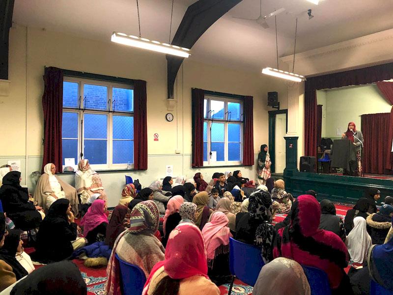 Minhaj Sisters and MDP hold Mawlid-un-Nabi event in Crawley