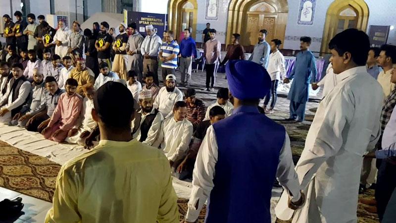 Faith leaders attend Interfaith Iftar dinner under MQI