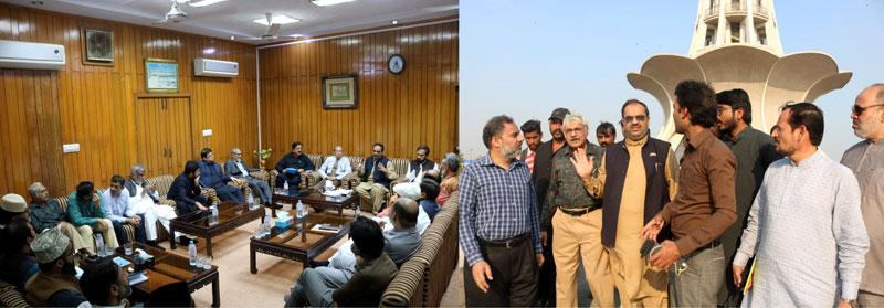 Minhaj ul Quran delegation visits Minar-e-Pakistan Lahore