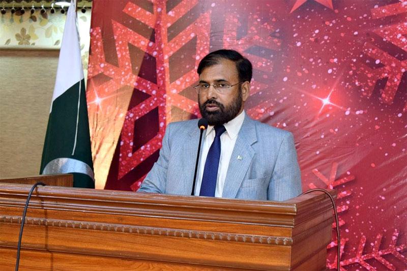 Mr. Sohail Raza addresses Christmas Day Celebrations by Minhaj University Lahore