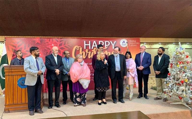 Christmas Day Celebrations by Minhaj University Lahore