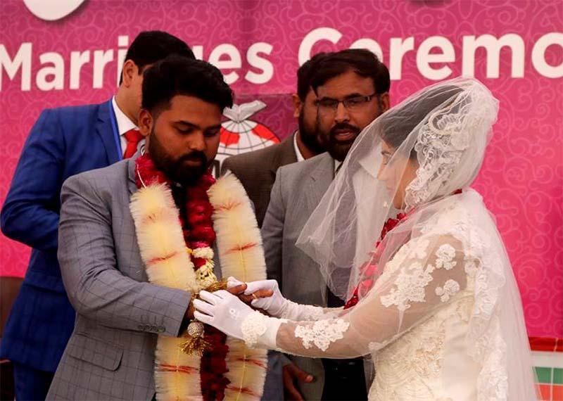 منہاج ویلیفئر فاونڈیشن اجمتاعی شادیاں 2019
