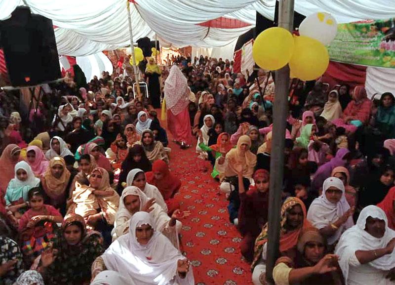 Minhaj-ul-Quran Women League organizes Seerah Conference in Depalpur Okara