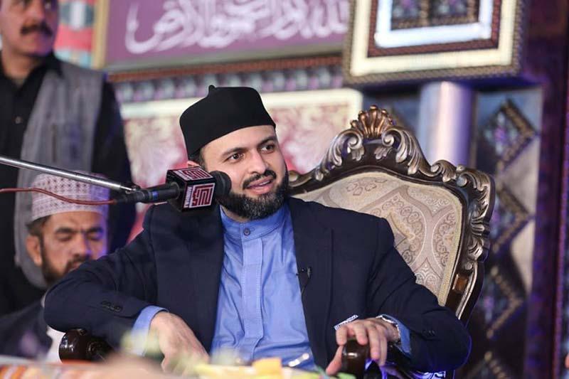 Sanglahill: Dr Hassan Mohi-ud-Din Qadri addresses Milad gathering