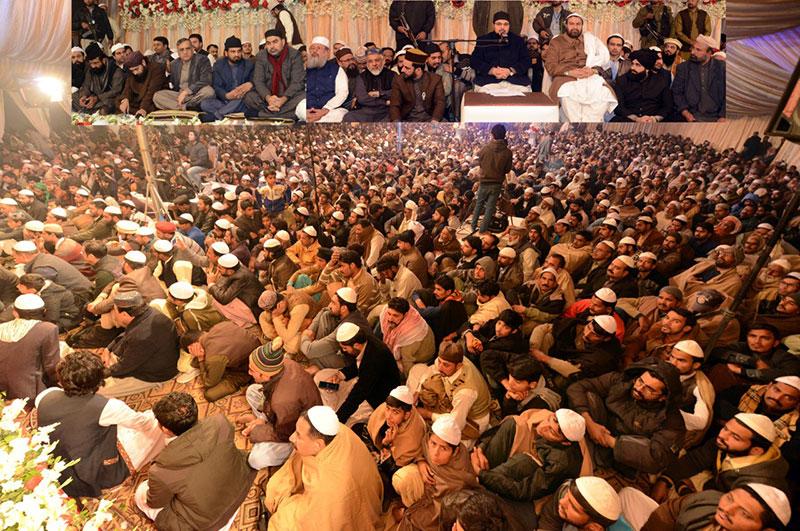 Dr Hussain Mohi ud Din Qadri addresses Urs ceremony in Lahore