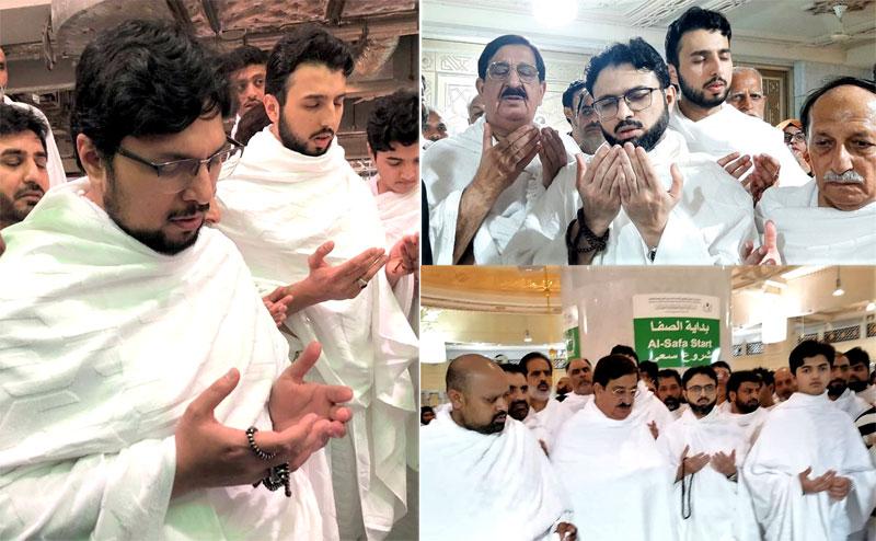 Dr Hussain Mohi ud Din Qadri performs Umrah