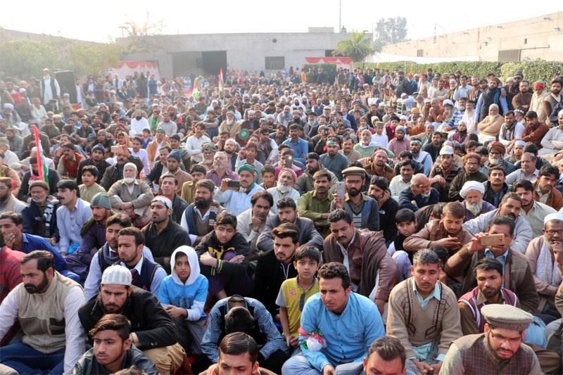 Dr Tahir-ul-Qadri addresses at the first death anniversary of Zainab Amin