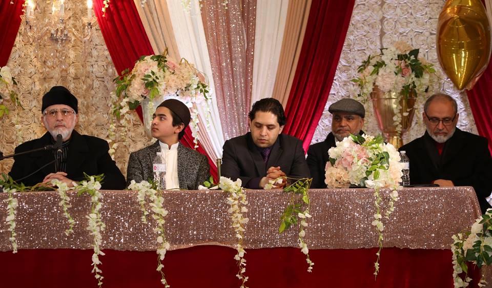 Dr Tahir ul Qadri birthday celebrations held in Canada