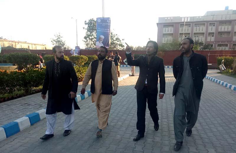 Mian Maqsood Ikam calls on Dr Hussain Mohi-ud-Din Qadri