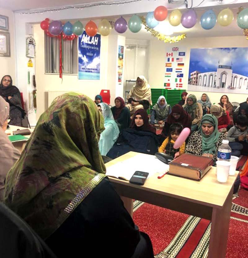North Hampton: Milad ceremony held for women