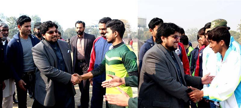 منہاج یونیورسٹی لاہور کا سپورٹس فیسٹیول، کرکتڑ عبدالرزاق کی شرکت