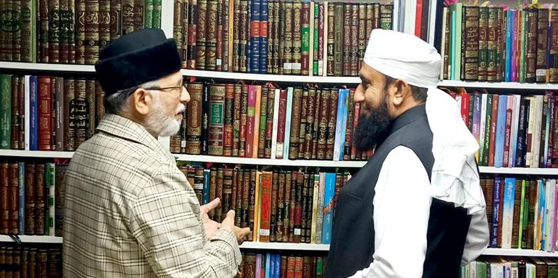 Maulana Tariq Jameel calls on Dr Tahir-ul-Qadri