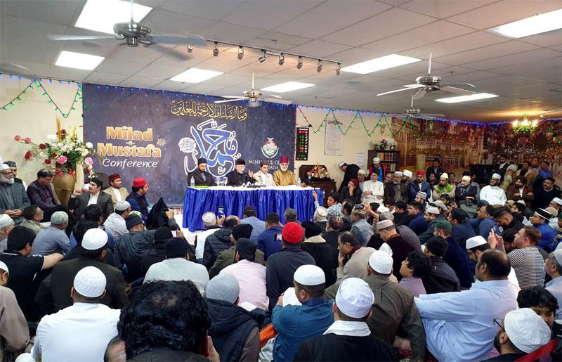 Dr Muhammad Tahir-ul-Qadri addresses Milad-e Mustafa Conference