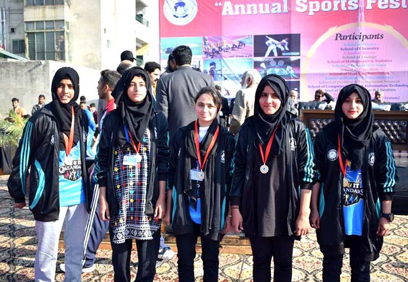 منہاج یونیورسٹی لاہور میں 15 روزہ سالانہ سپورٹس فیسٹیول کا آغاز، افتتاحی تقریب