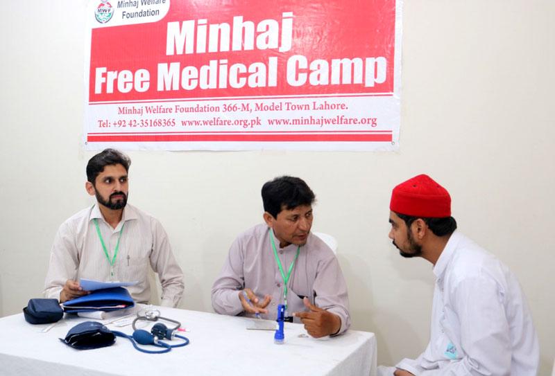 Minhaj Free Medical Camp Itikaf City 2019