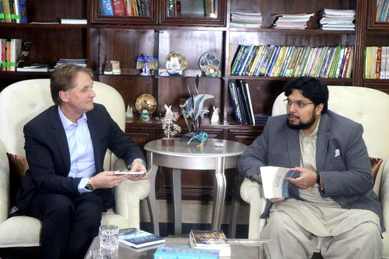 Chairman of Global Mission Awareness USA visits Minhaj University Lahore