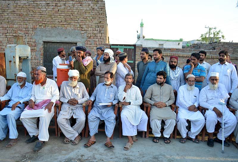 لودھراں میں منہاج مسجد کا سنگ بنیاد