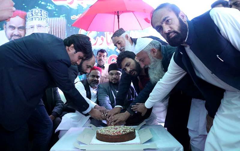 ڈاکٹر حسین محی الدین قادری کا دورہ جھنگ