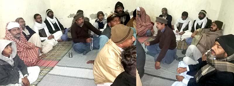 راجن پور میں ہفتہ وار حلقہ درود