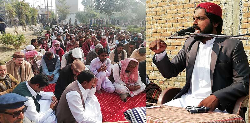 راجن پور میں علامہ طالب حسین قادری کا خطاب