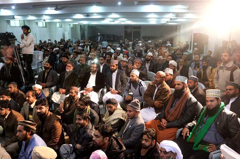 MQI workers call on Dr Tahir ul qadri
