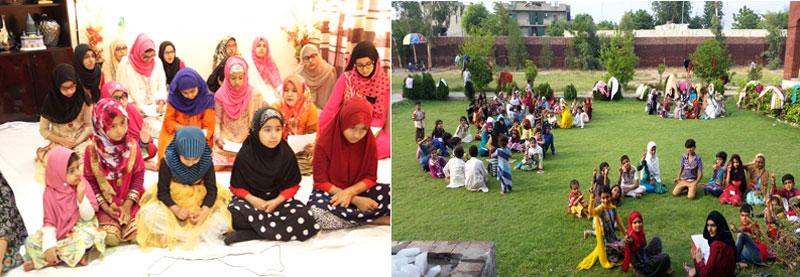 EAGERS by Minhaj ul Quran Women League