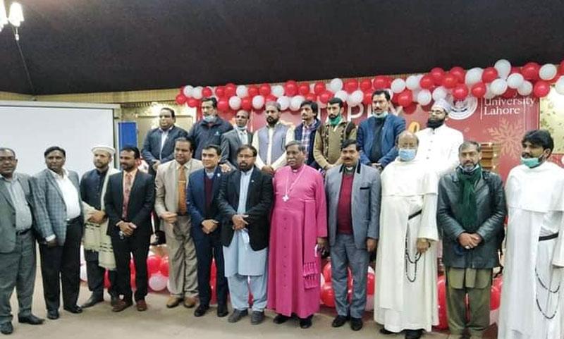 Christmas ceremony held at the Minhaj University Lahore