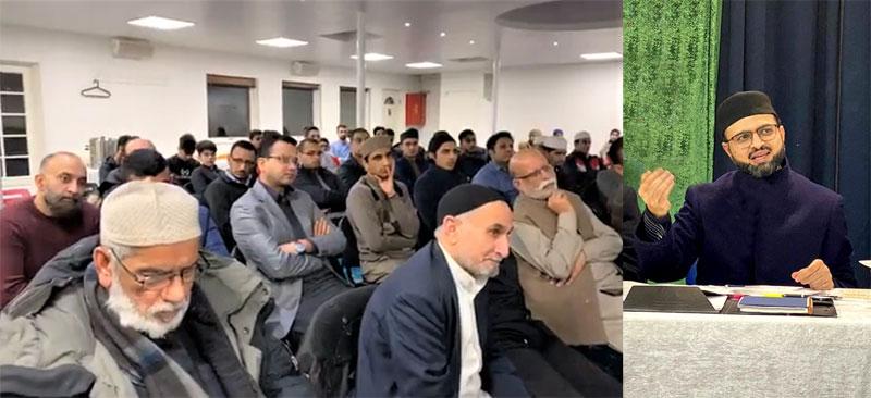Denmark: Dr Hassan Mohi-ud-Din Qadri addresses a seminar