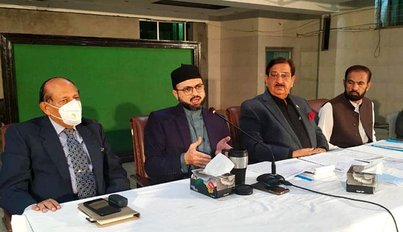 Dr Hassan Mohi-ud-Din Qadri addresses CWC meeting