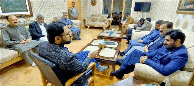 Ibrar-ul-Haq calls on Dr Hassan Mohi-ud-Din Qadri