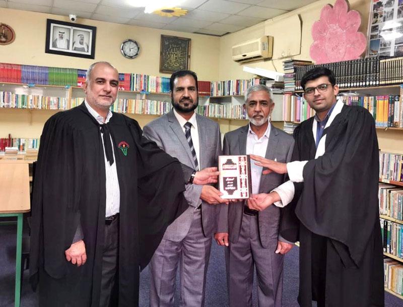 MQI delegation visits school in kuwait