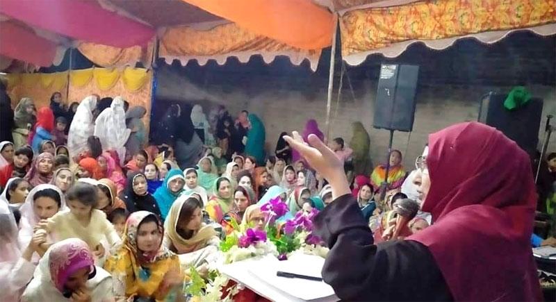 Mahfil-e-Milad held at Bhan Sayedabad and Sehwan Sharif