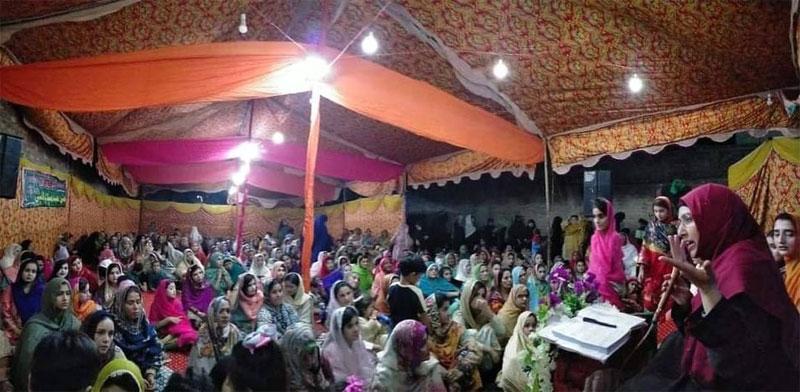 Mahfil-e-Milad held at Bhan Saedabad and Sehwan Sharif