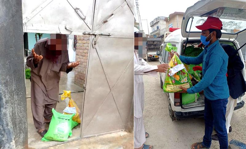 Minhaj Welfare Foundation distributes ration among 500 families