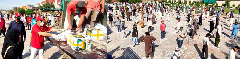 Food of worth Rs. 80 million distributed among the deserving so far: Khurram Nawaz Gandapur
