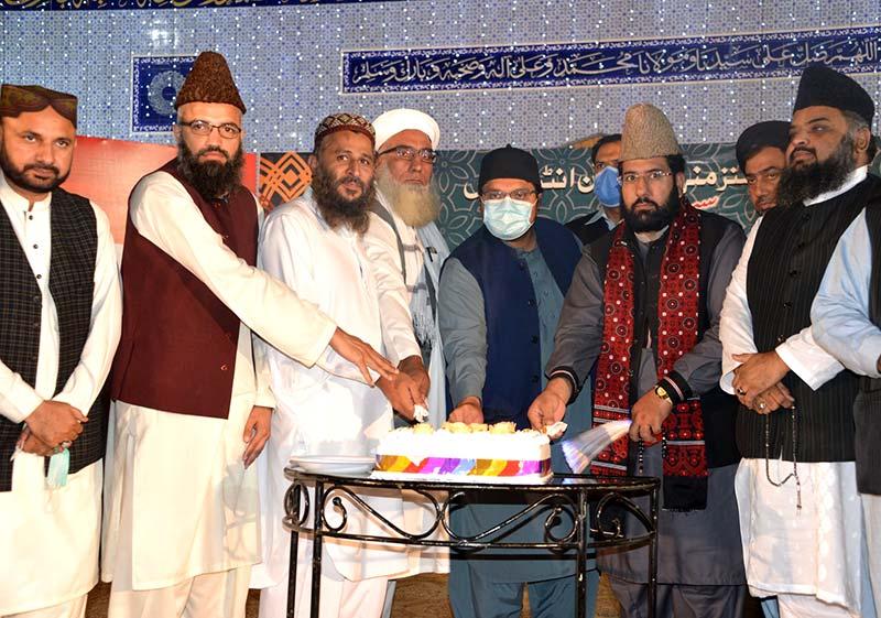 Faith leaders attend Milad feast at MQI secretariat