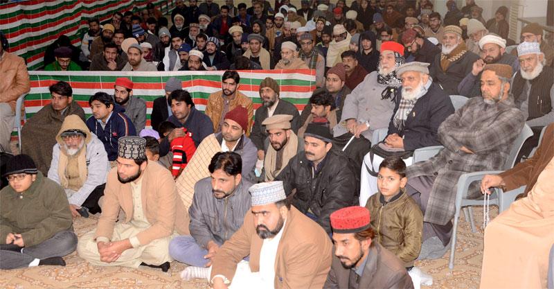 Gosha-e-Durood Monthly spiritual gathering for January 2020 held