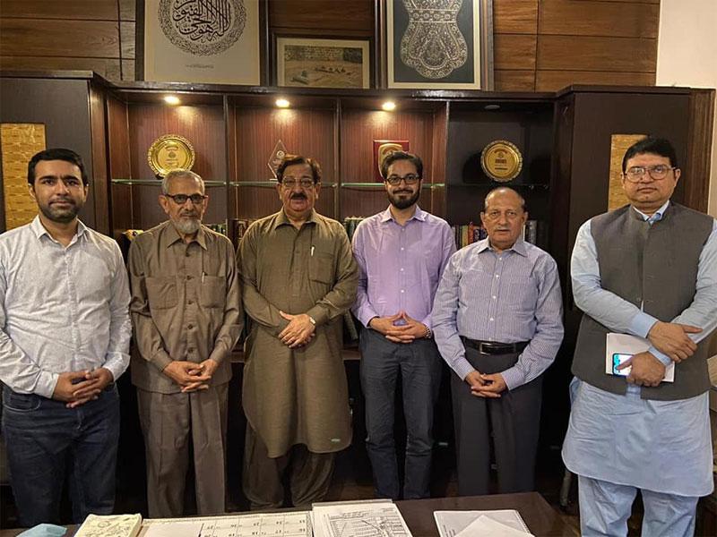 Shahid Mursaleen visits MQI Secretariat