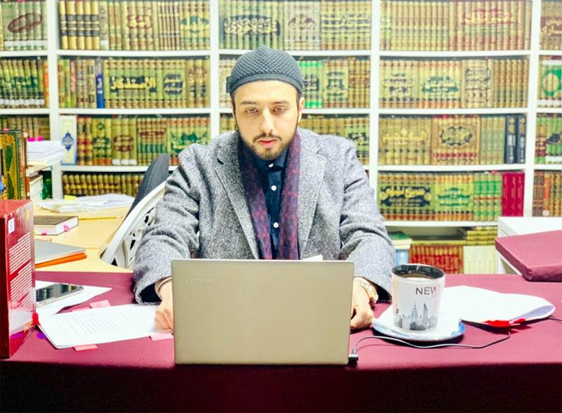 Shaykh Hammad Mustafa Qadri addresses Youth Development Program 2020